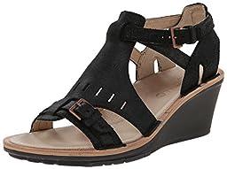 Merrell Women\'s Sirah Cloak Sandal,Black,8 M US