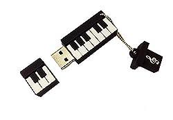 Cute Piano 32GB Flash Memory Stick Musical Instrument USB 2.0 Drive