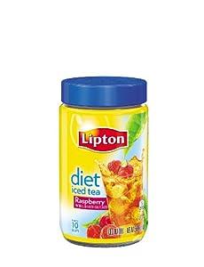 Lipton  Iced Tea Mix, Diet Raspberry  2.6 Ounce (Pack of 4)