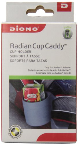 Lowest Prices! Diono Radian Cup Caddy Car Seat, Grey