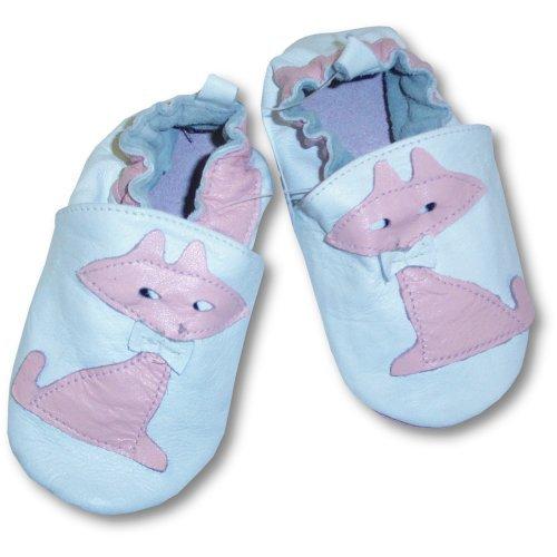 Cheap Tendertoes Lamb Leather Pink And White Kitty Shoes (B000XVKI3U)