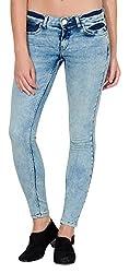 Fourgee Women's Jeans (7snb1--28, Blue, 28)