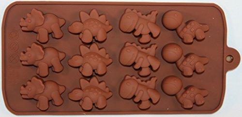 Sillicone Dinosaur Candy Mold