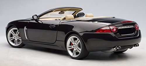 JAGUAR XKR CONVERTIBLE - MIDNIGHT AutoArt 1:18