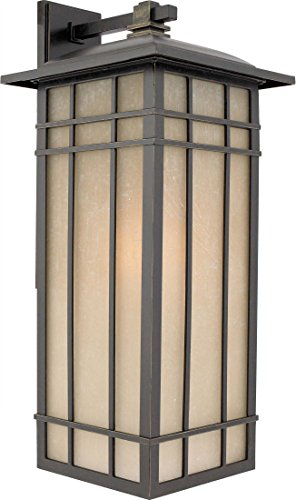 Quoizel HCE8411IBFL Hillcrest 1 Light Outdoor Wall Lantern (Mission Outdoor Wall Light compare prices)