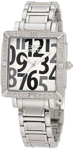 (极品)Invicta 因维克塔 10669野花典藏钻石镶嵌方形表盘瑞士机芯女士腕表 $55.85