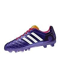 Adidas 11nova Junior Firm Ground Cleats [CBLACK/CWHITE/SOLBLU]