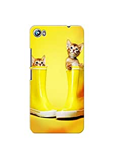 Printlaud back cover for MICROMAX CANVAS FIRE4 (A107)