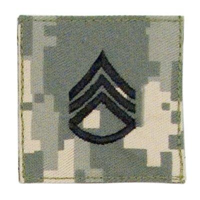 ACU Digital Camouflage Staff Sergeant Insignia