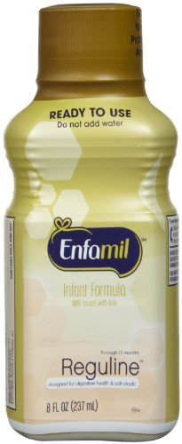 Enfamil Reguline Baby Formula - Ready To Feed - 8 Oz - 6 Pk