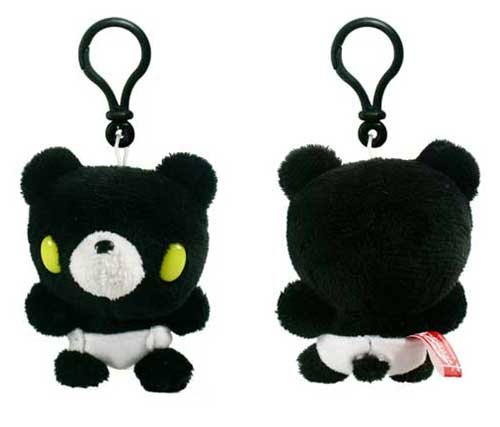 "Baby Gloomy Bear Clip-On 3"" Plush Black - 1"