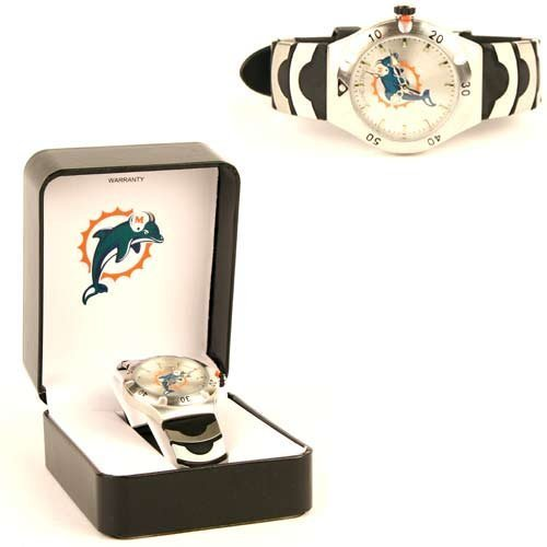 Miami Dolphins Nfl Game Time Men'S Watch