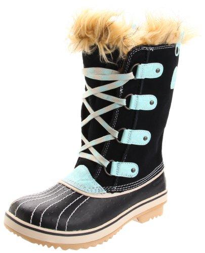 Sorel Tofino 1839 - Winter Boot (Little Kid/Big Kid),Black/Curry,3 M US Little Kid