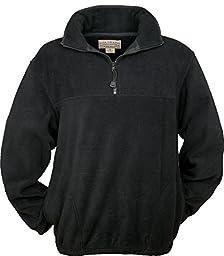 Colorado Timberline Steamboat Fleece Pullover Black Large