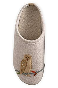 Giesswein Owl Boiled Wool Slipper