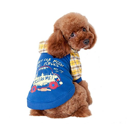 Pet Clothes,Haoricu Winter Doggy Apparel Jacket Sweater Dog Coat Pet Clothes Clothing Small Puppy Hoodie Coat Custome (S, (Doggy Clothing)
