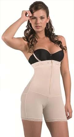Bella Mia Women's Strapless Short Body Shaper-Xxl-Beige at ... - photo#5