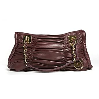 MICHAEL Michael Kors Webster Large E/W Tote, Color Deep Red