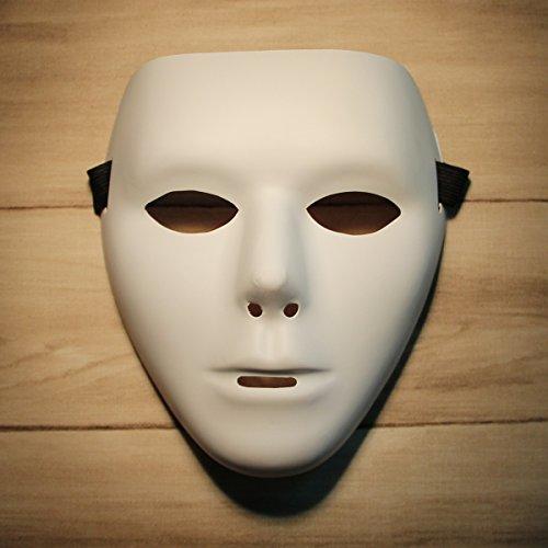 черные костюмы белые маски видео