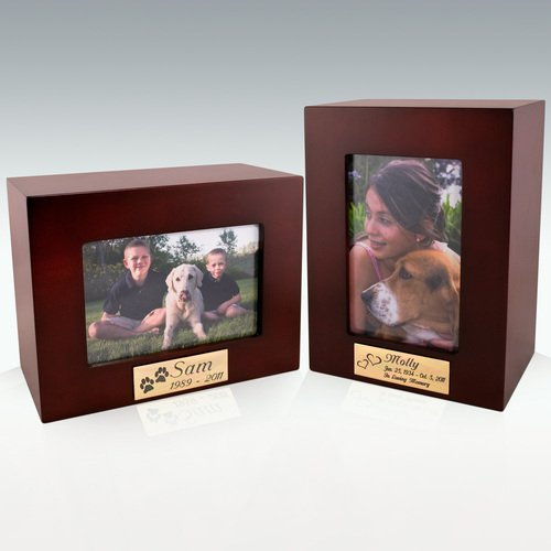 Versa Classic Cremation Urn - Rose Wood Finish