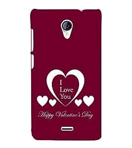 EPICCASE valentines day Mobile Back Case Cover For Micromax Unite 2 A106 (Designer Case)