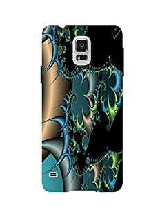 Bagsfull Designer Printed Matte Hard Back Cover Case for Samsung Galaxy S5