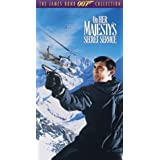 On Her Majesty's Secret Service [VHS] ~ George Lazenby
