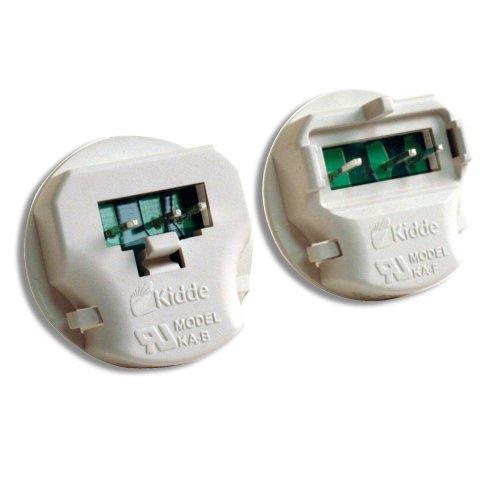 Kidde KA-B, KA-F Universal Smoke Alarm Adapters, 2 Units