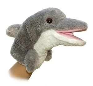 """Aurora World 10"""" Dolphin Puppet"""