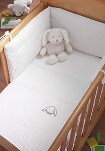 Izziwotnot White Gift Crib Set