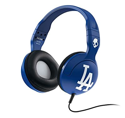 Skullcandy MLB Hesh 2.0 Los Angeles Dodgers with Mic Sports Collection Wired Headphone - Blue