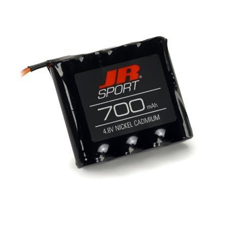 JR Sport 4.8V 700mAh NiCD Battery Flat