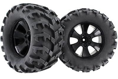 Redcat Racing Tire Unit-V-Pattern (2 Piece), Black