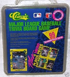 MAJOR LEAGUE BASEBALL Trivia Board Game by Classic - 1