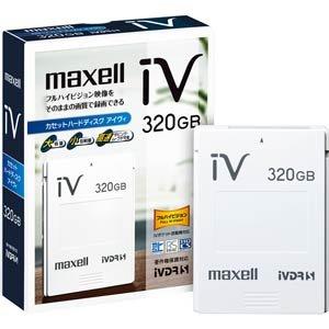 maxell ハードディスクIVDR 容量320GB日立薄型テレビ「Wooo」対応 「SAFIA」対応 M-VDRS320G.B