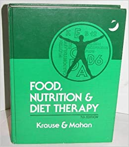 KRAUSES FOOD AND NUTRITION THERAPY 13TH EDITION PDF