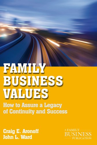 Family Business Values: How to Assure a Legacy