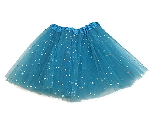 Rush Dance Ballerina Girls Dress-Up Sparkling Stars Sequins Costume Recital Tutu