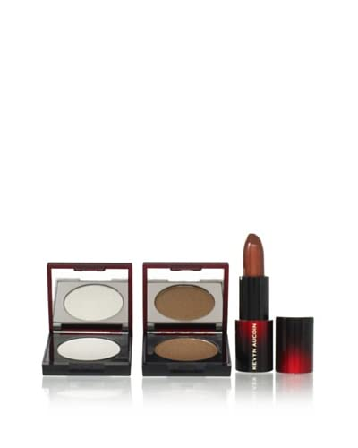 Kevyn Aucoin Shimmery Bronze 3-Piece Eye & Lip Collection