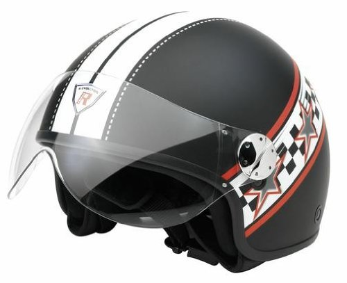 Bottari Moto 64497 Casque Evolution, Noir Mat, M