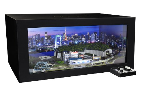 Zゲージ PROZ 東京の夜景シリーズA 港区周辺 ディスプレイBOX付 山手線7両 完全セット