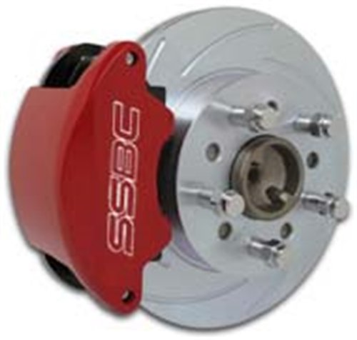 SSBC A160-2PO SuperTwin Kit with Polished Calipers