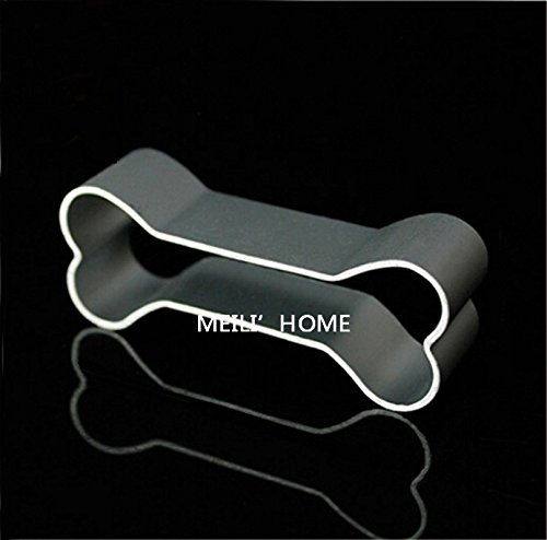 Saasiiyo Aluminium Mold Dog'S Favorite Bone Shape Cookie Cake Decorating Alloy Cutter Tin Baking Mould 2701 (Spring Roll Wrapper Tray compare prices)