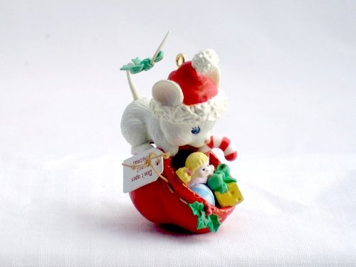 Heirloom Collection Curious Cutie - Mouse with Santa's Bag Christmas Ornament by Jim Henson's Muppets