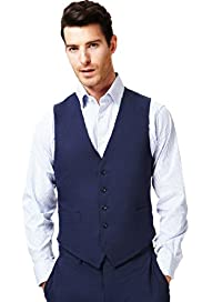 Collezione Linen Miracle&#8482; 5 Button Waistcoat