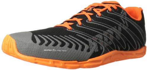 Inov-8 Road-X Lite 155 Cross-Training Shoe,Raven/Orange,10.5 D US