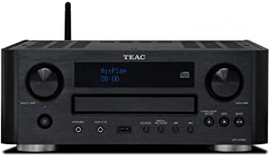 Teac CR-H700-B CD-Receiver mit Airplay Technology (AUX1/2, MW/UKW/RDS-Tuner, USB) schwarz