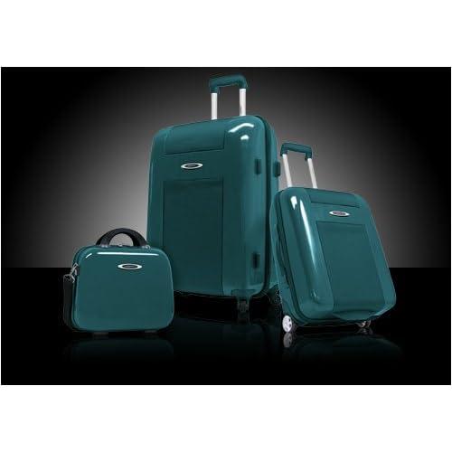 Amazon.com: Travelers Choice Sydney 3-Piece Hardside Luggage Set