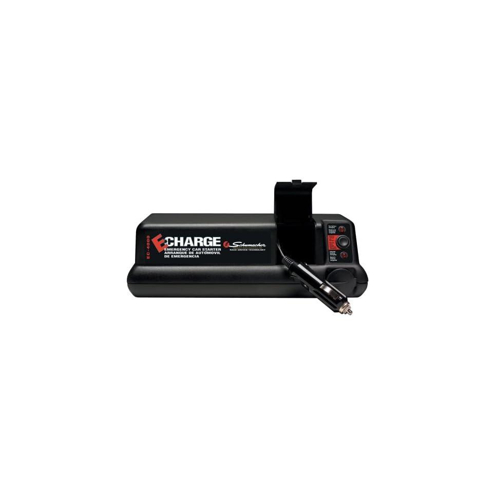 Schumacher EC 4000 USB Large Emergency Glove Box Charger w/USB port