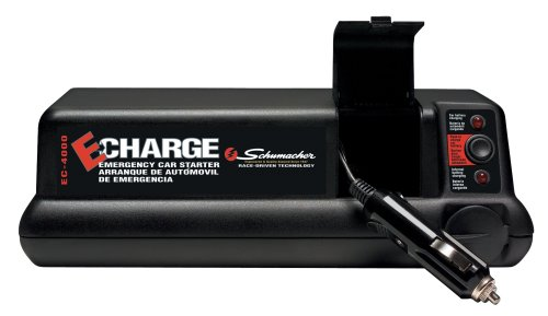 Schumacher EC-4000-USB Large Emergency Glove Box Charger w/USB port